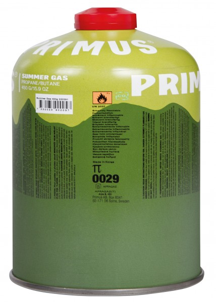 Primus Schraubbare Gaskartusche Summer Gas 450 g
