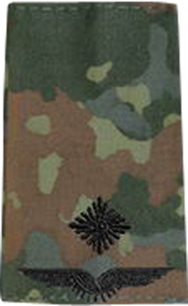 BW Rangschl. Leutnant Luftwaffe Tarn/Schwarz