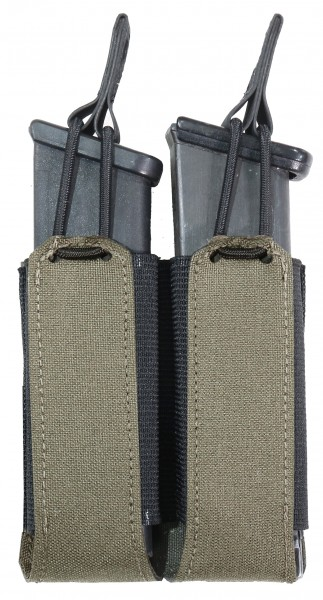 WAS Laser Cut Double Bungee Pistol Mag Pouch