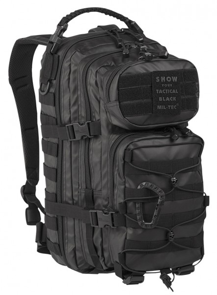 US Assault Pack Small Tactical Black