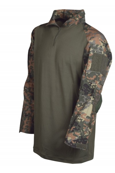Mil-Tec Shirt Warrrior Flecktarn