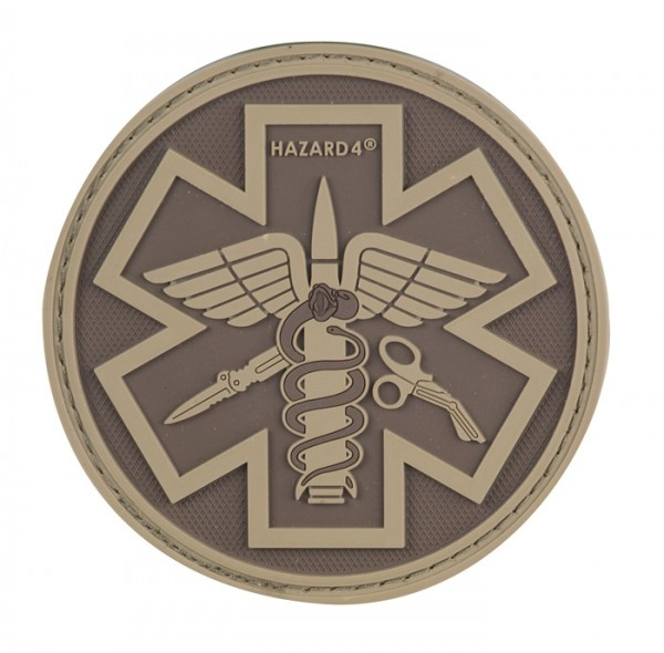 Hazard 4 Paramedic Patch Coyote PAT-PMD-CYT