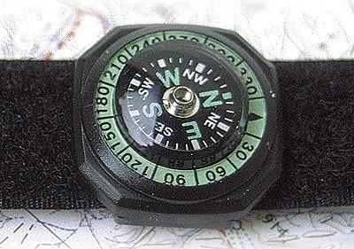 Uhrenkompass Deluxe mit Armband