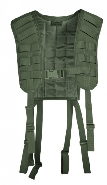 Warrior Molle Harness Oliv