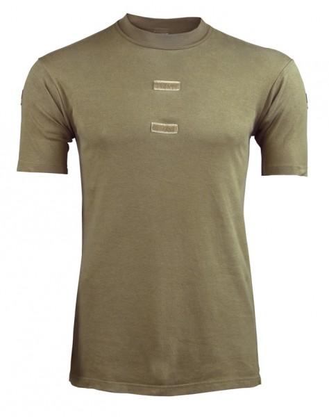 BW Tropen T-Shirt Braun Gebraucht