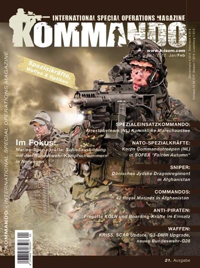 Kommando Magazin K-ISOM Ausgabe: 21 Nr.1/2012