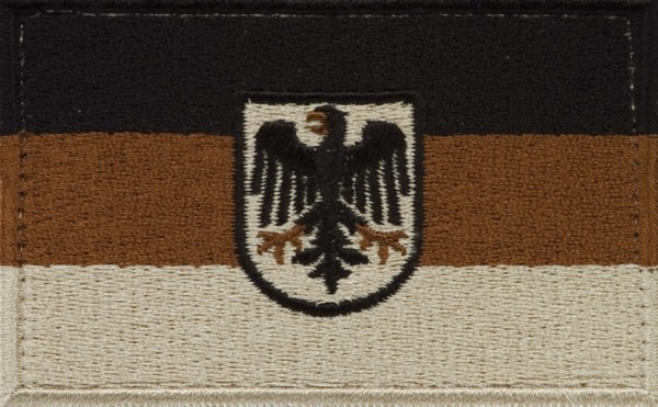 BW Hoheitsabzeichen Adler Sand mit Klettband Groß