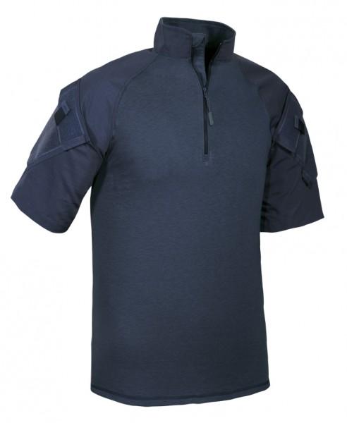 TRU-SPEC 1/4 Zip Combat Shirt Kurzarm Navy
