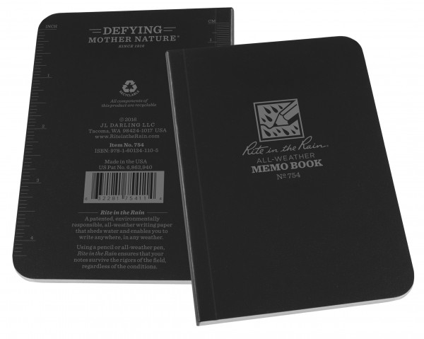 "Rite in the Rain Tactical Memo Book 2 7/8"" x 5"""