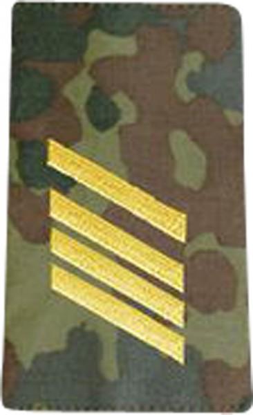 BW Rangschl. Stabsgefreiter Marine Tarn/Gold