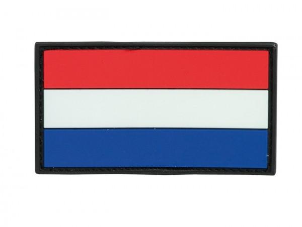 3D Rubber Patch Niederlande Bunt