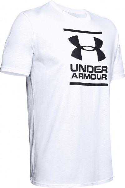 Under Armour Charged Cotton Foundation Shirt Hellgrau