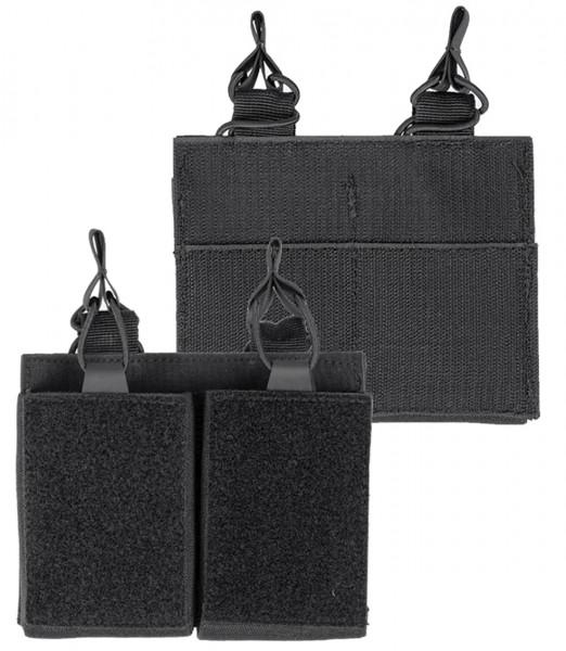 Mil-Tec Magazintasche Double mit Klettrücken
