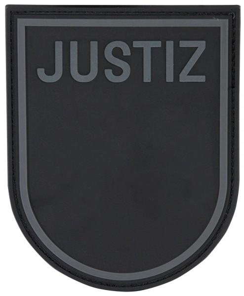 3D Ärmelabzeichen Justiz Baden Würtemberg (Black Ops)