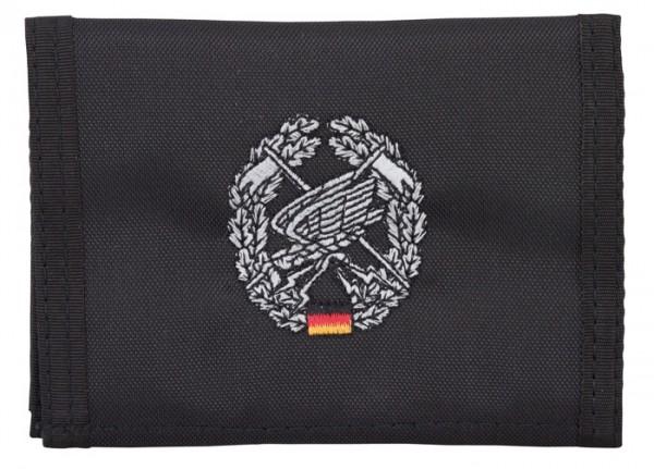 BW Geldbörse Fernspähtruppe Schwarz
