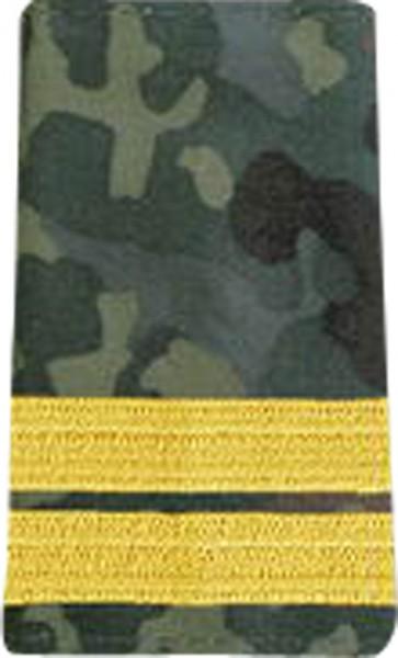 BW Rangschl. Oberleutnant zur See Marine Tarn/gold