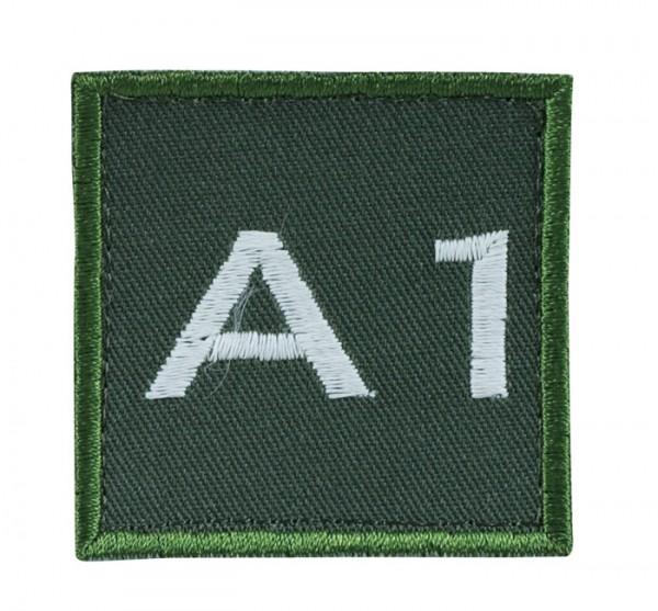 Truppkennzeichnung Oliv mit Klett A1