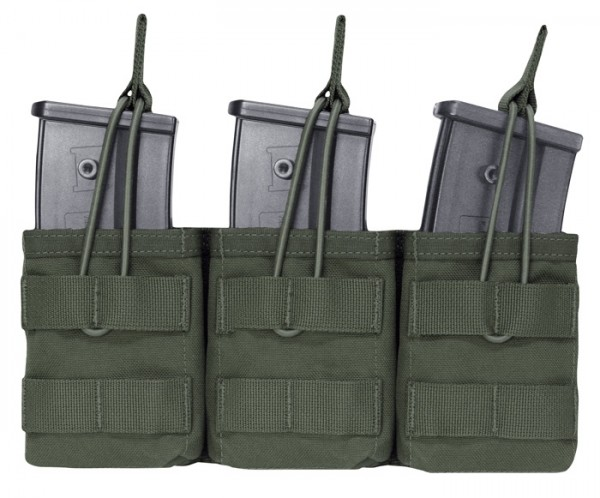 Warrior Triple Open Mag Pouch G36 Oliv