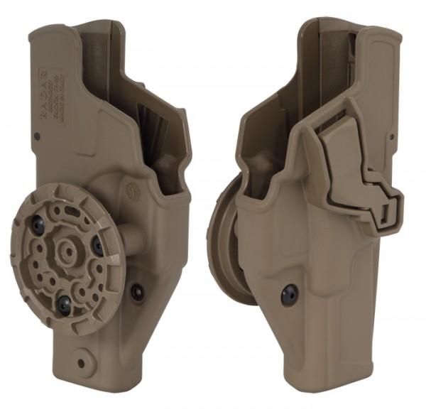 Radar Tactical Holster Safe&Fast 6611 Glock 17 Coyote