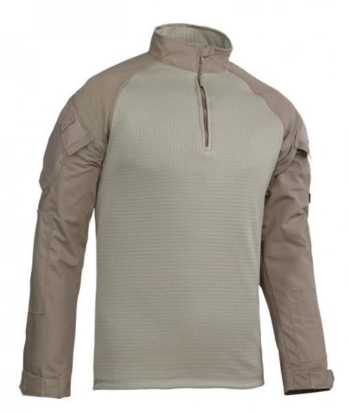 TRU-SPEC Combat Shirt Cold Weather 1/4 Zip Khaki