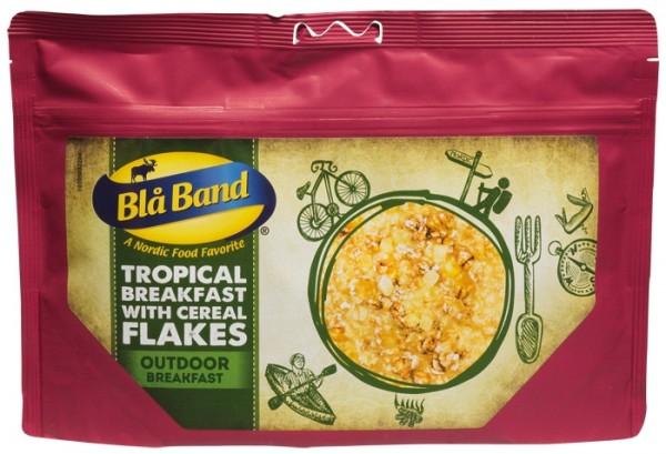 Blå Band Outdoor Breakfast - Tropisches Frühstück mit Flocken