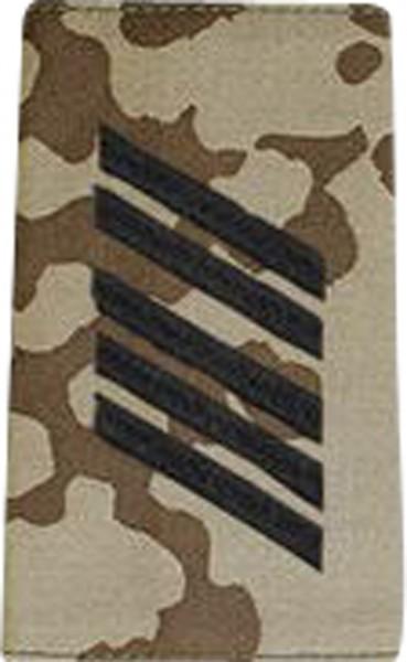 BW Rangschl. Oberstabsgefreiter Tropentarn/Schwarz