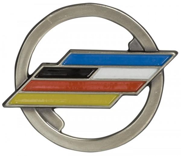 BW Barett Abzeichen Dt-Frz Brigade Metall