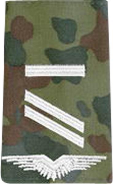 BW Rangschl. Obergefreiter UA LW Fleckt/Silber