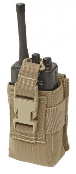 Warrior Adjustable Radio Pouch Coyote