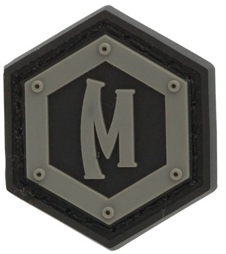 Maxpedition Rubber Patch HEX LOGO Arid