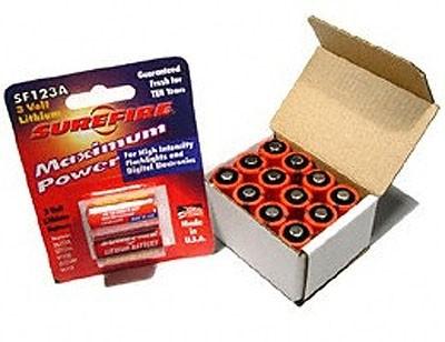 SUREFIRE 3V-Lithiumbatterie 12er Pack
