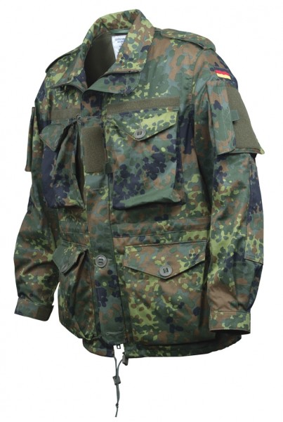 BW Einsatzkampfjacke Leicht Flecktarn