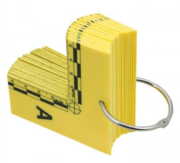 Evi-Paq Winkel mit Maßstab & Buchstaben (26er Set)