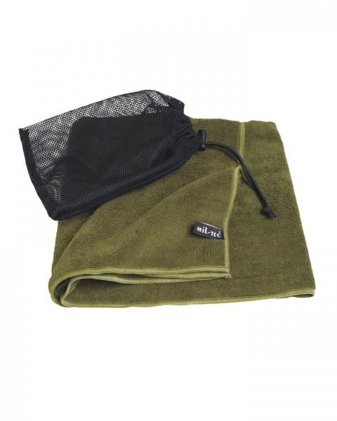 Handtuch Microfiber Oliv