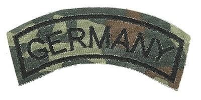 BW Armabzeichen 'Germany' Flecktarn Klein