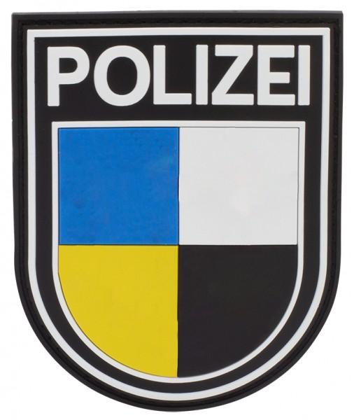 3D Ärmelabzeichen Polizei Saarland