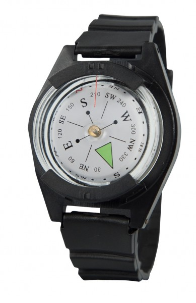 Kompass mit festem Armband