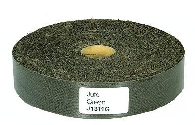 Jute Band Grün 50 mm (50M Rolle)