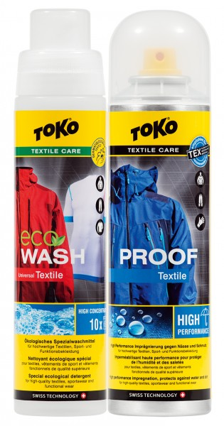 Toko Duo-Pack Textile Proof & Eco Wash Textile 2 x 250 ml
