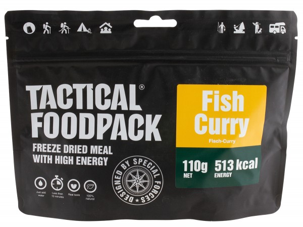 Tactical Foodpack - Fisch Curry