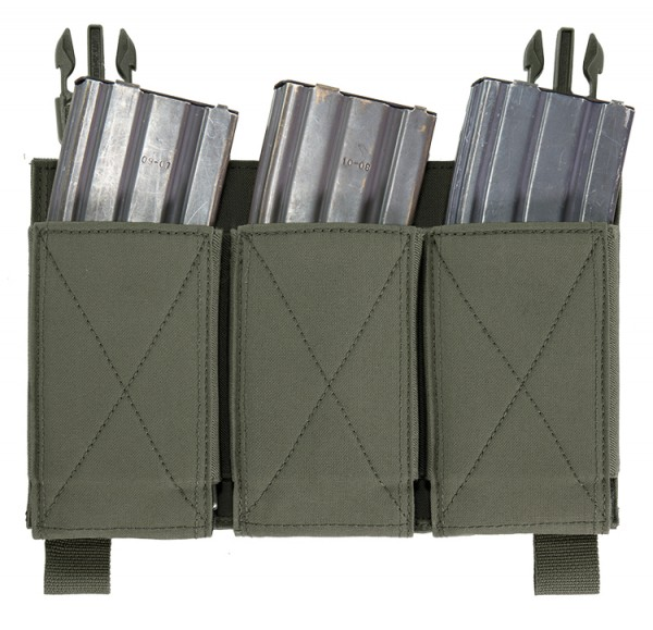 Warrior Removable Triple Elastic Mag Pouch