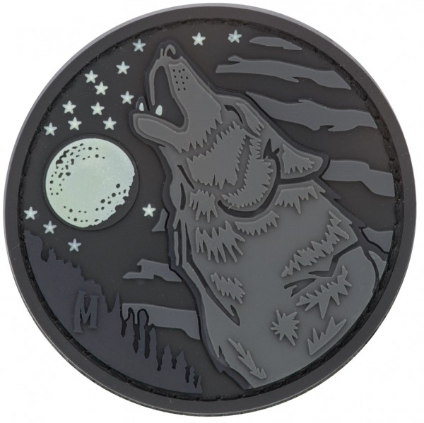 Maxpedition Rubber Patch WOLF Glow