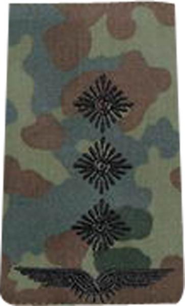 BW Rangschl. Hauptmann Luftwaffe Tarn/Schwarz