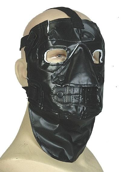 US Kälteschutzmaske Schwarz Neu