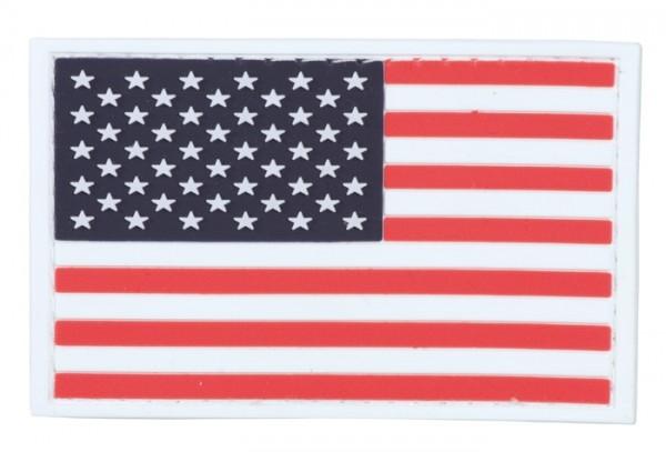 3D Rubber Patch USA 80 x 50 bunt