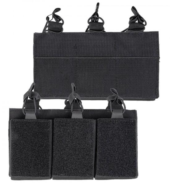 Mil-Tec Magazintasche Triple mit Klettrücken