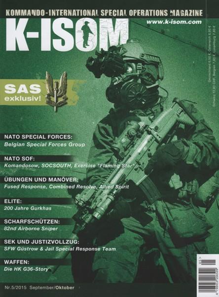 Kommando Magazin K-ISOM Ausgabe: 43 Nr.5/2015