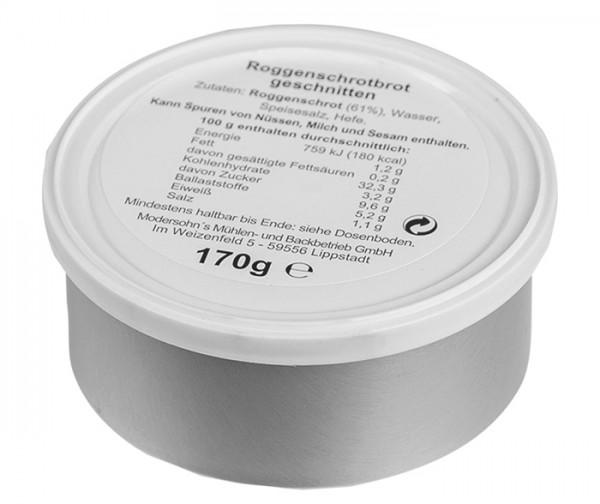 BW Dosenbrot Roggenschrotbrot 3 x 170 g