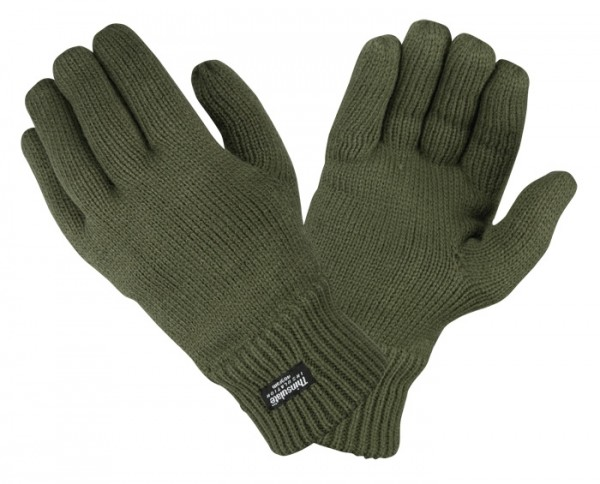 Handschuhe Acryl mit Thinsulate Thermofutter -2 Fa