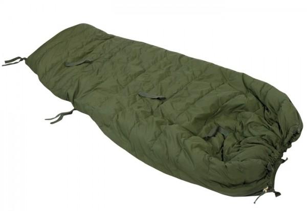 BW Schlafsack Winter 3-tlg Oliv Gebraucht